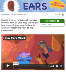 How the Body Works: Ears Video