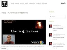 PS1B—Chemical Reactions Video
