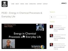 PS3D - Energy in Chemical Processes and Everyday Life Video