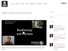 LS4D - Biodiversity and Humans Video
