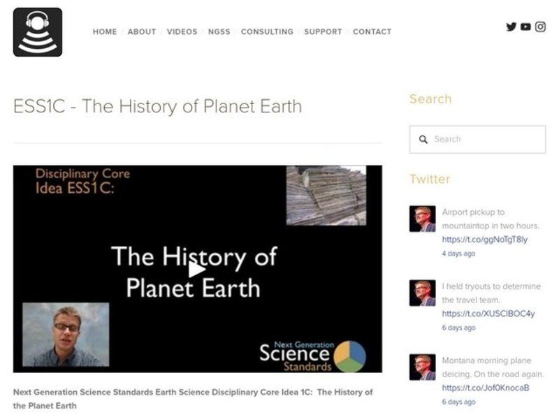 ESS1C - The History of Planet Earth Video