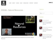 ESS3A - Natural Resources Video
