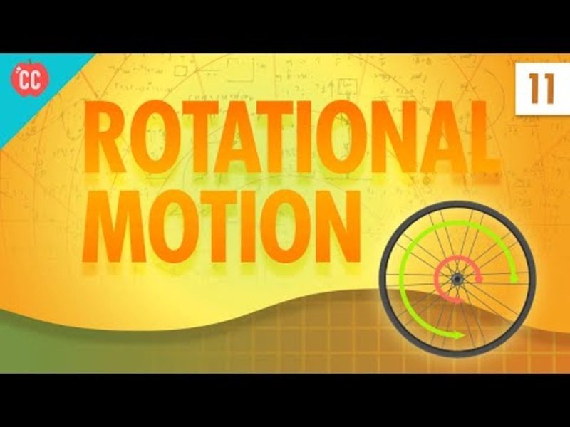 Rotational Motion: Crash Course Physics #11 Video