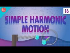 Simple Harmonic Motion: Crash Course Physics #16 Video