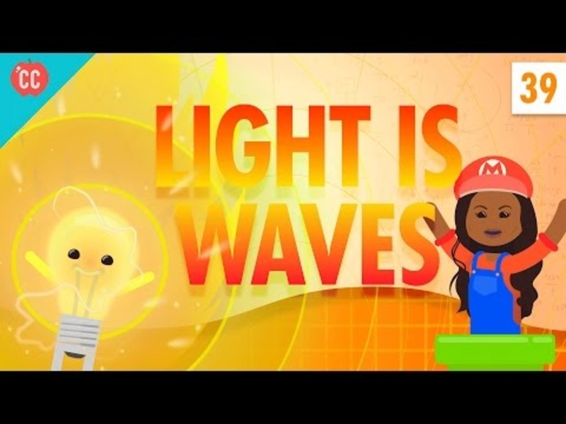 Light Is Waves: Crash Course Physics #39 Video