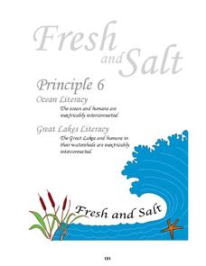 Ocean and Great Lakes Literacy: Principle 6 Lesson Plan