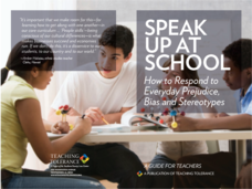 Speak Up at School Unit