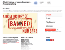 A Brief History of Banned Numbers Video