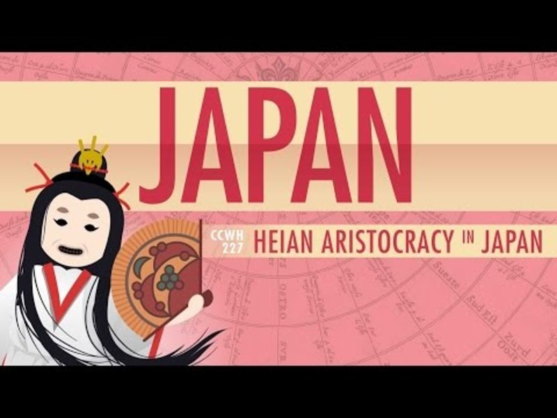 Japan in the Heian Period and Cultural History: Crash Course World History 227 Video