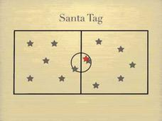 Santa Tag Activities & Project