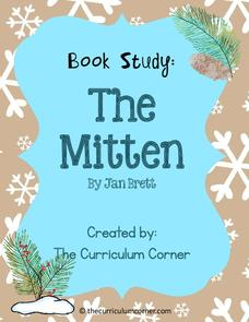 Book Study: The Mitten Printables & Template