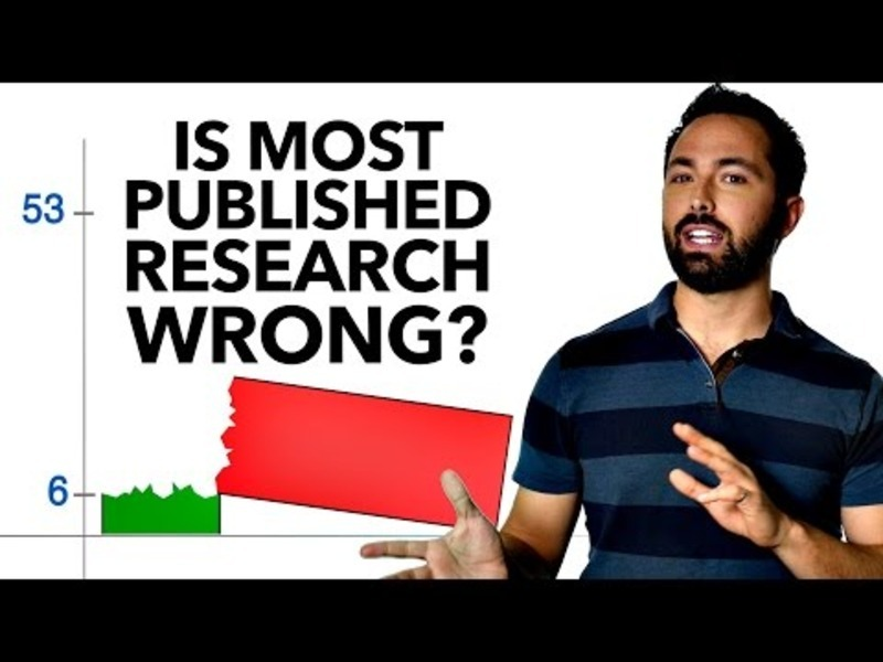 Is Most Published Research Wrong? Video