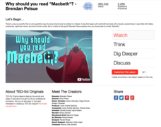 "Why Should You Read ""Macbeth""? Video"