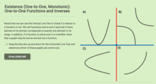Existence: One-to-One Functions and Inverses Interactive