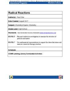 Radical Reactions Lesson Plan