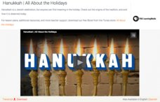 Hanukkah | All About the Holidays Video