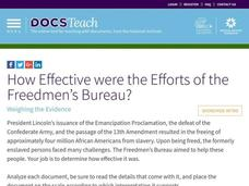 How Effective were the Efforts of the Freedmen's Bureau? Interactive