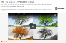 The Four Seasons | All About the Holidays Video