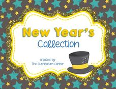 New Year's Collection Printables & Template