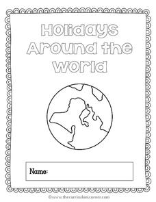 Holidays Around the World Printables & Template