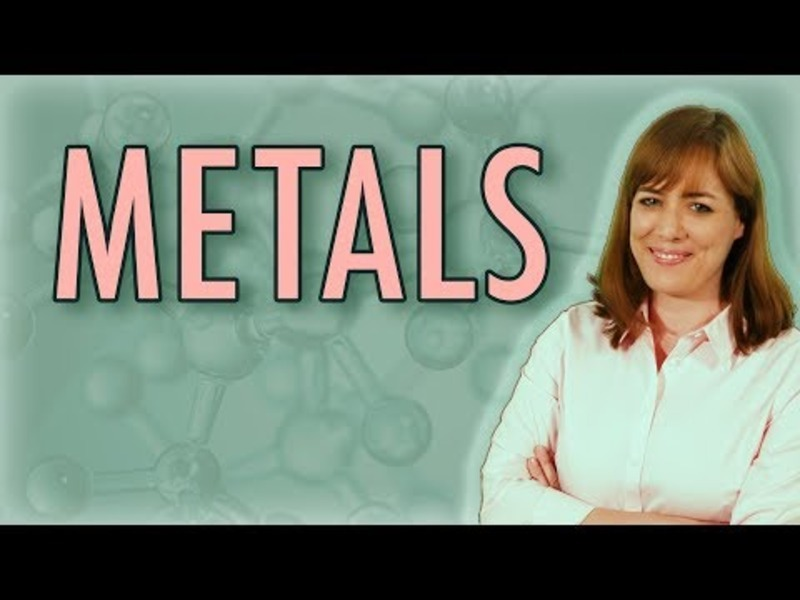 Chemistry: What Is a Metal? (Metallic Bonds) Video