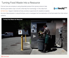 Turning Food Waste Into a Resource Video