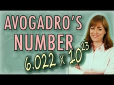 Chemistry: What Is the Mole (Avogadro's Number)? Video