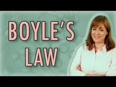 Chemistry: Boyle's Law (Gas Laws) Video