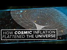 How Cosmic Inflation Flattened the Universe Video