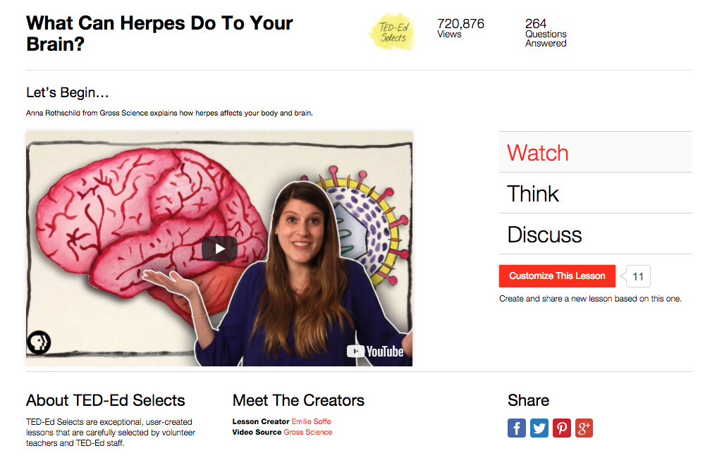 What Can Herpes Do To Your Brain? Video