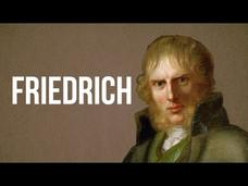 Art/Architecture - Caspar David Friedrich Video