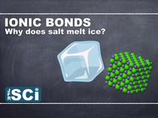 Ionic Compounds and Bonds: Why Does Salt Melt Ice? Video