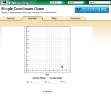 Simple Coordinates Game Interactive