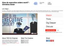 How Do Executive Orders Work? Video