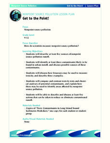 Get to the Point! Lesson Plan