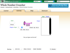 Whole Number Cruncher Interactive