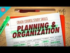 Planning and Organization: Crash Course Study Skills #4 Video