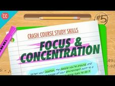 Focus and Concentration: Crash Course Study Skills #5 Video