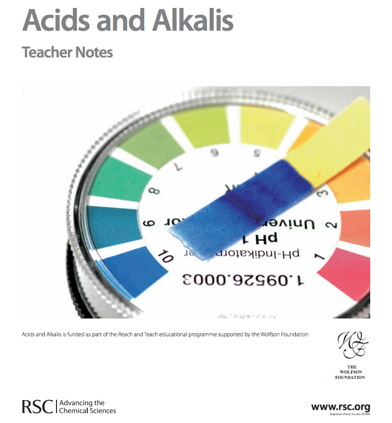 Acids and Alkalis—Gifted and Talented Chemistry Unit