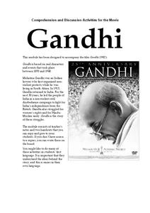 Gandhi Lesson Plan