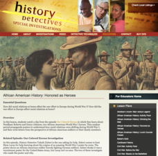 African American History: Honored as Heroes Lesson Plan