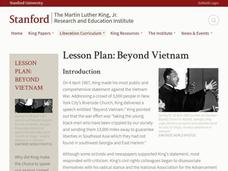 Beyond Vietnam Lesson Plan