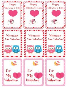 Valentine's Day Activity Pack Printables & Template