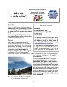 Why Are Clouds White? Lab Resource