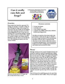 Can it Really Rain Fish and Frogs? Lab Resource