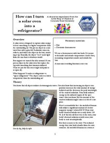 How Can I Turn a Solar Oven into a Refrigerator? Lab Resource