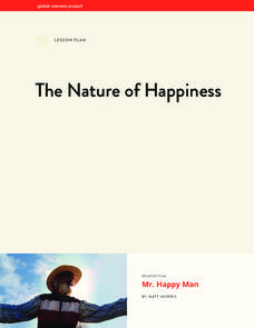 The Nature of Happiness Lesson Plan