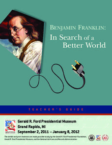 Benjamin Franklin: In Search of a Better World Unit