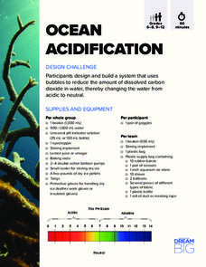 Ocean Acidification Activities & Project