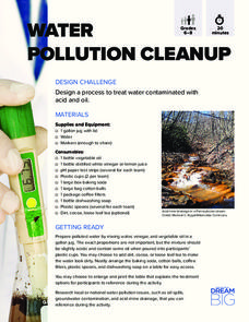 Water Pollution Cleanup Activities & Project